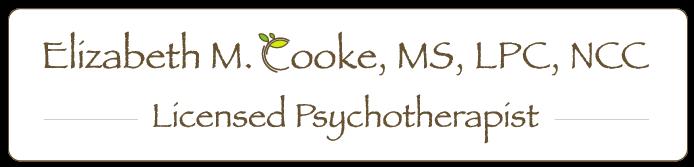 Elizabeth M. Cooke, MS, LPC, NCC